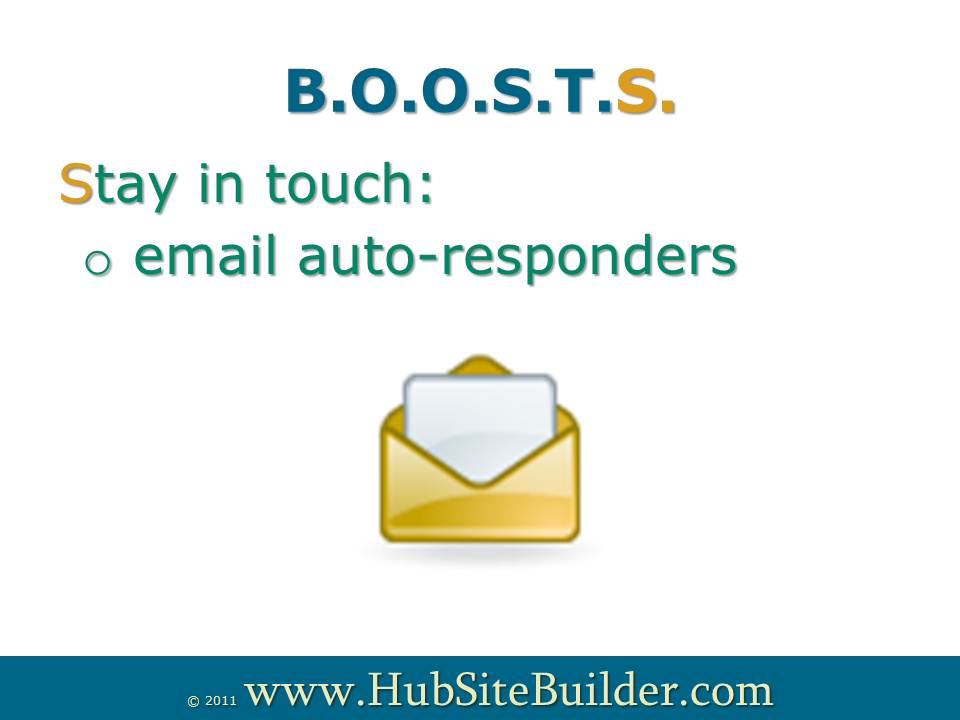 Want to stay in touch? get help from www.HubsiteHelp.com or send me an email