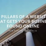 3 pillars of a business website - image