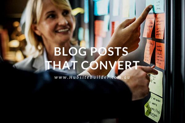 Blog Posts That Convert
