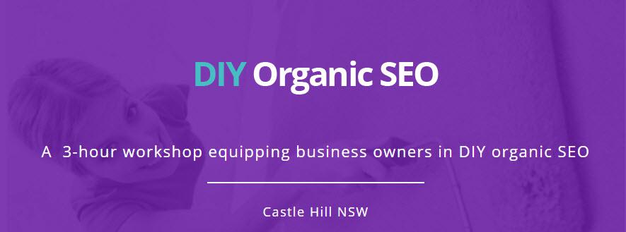 DIY Organic SEO Workshop at Castle Hill - image