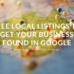 Free Local Listings To Get Your Business Found In Google
