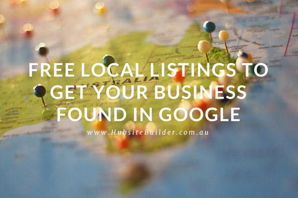Free Local Listing