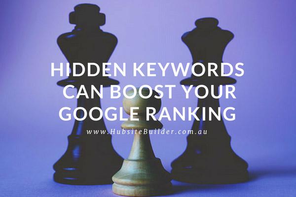Hidden Keywords Can Boost Your Google Ranking