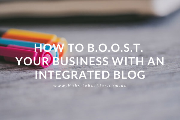 Blog regularly to BOOST your online presence and profits