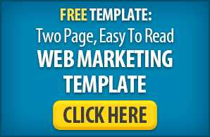 Web Marketing Template